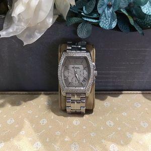 **NEW** Fossil Gunmetal Crystal Watch #FS-4421